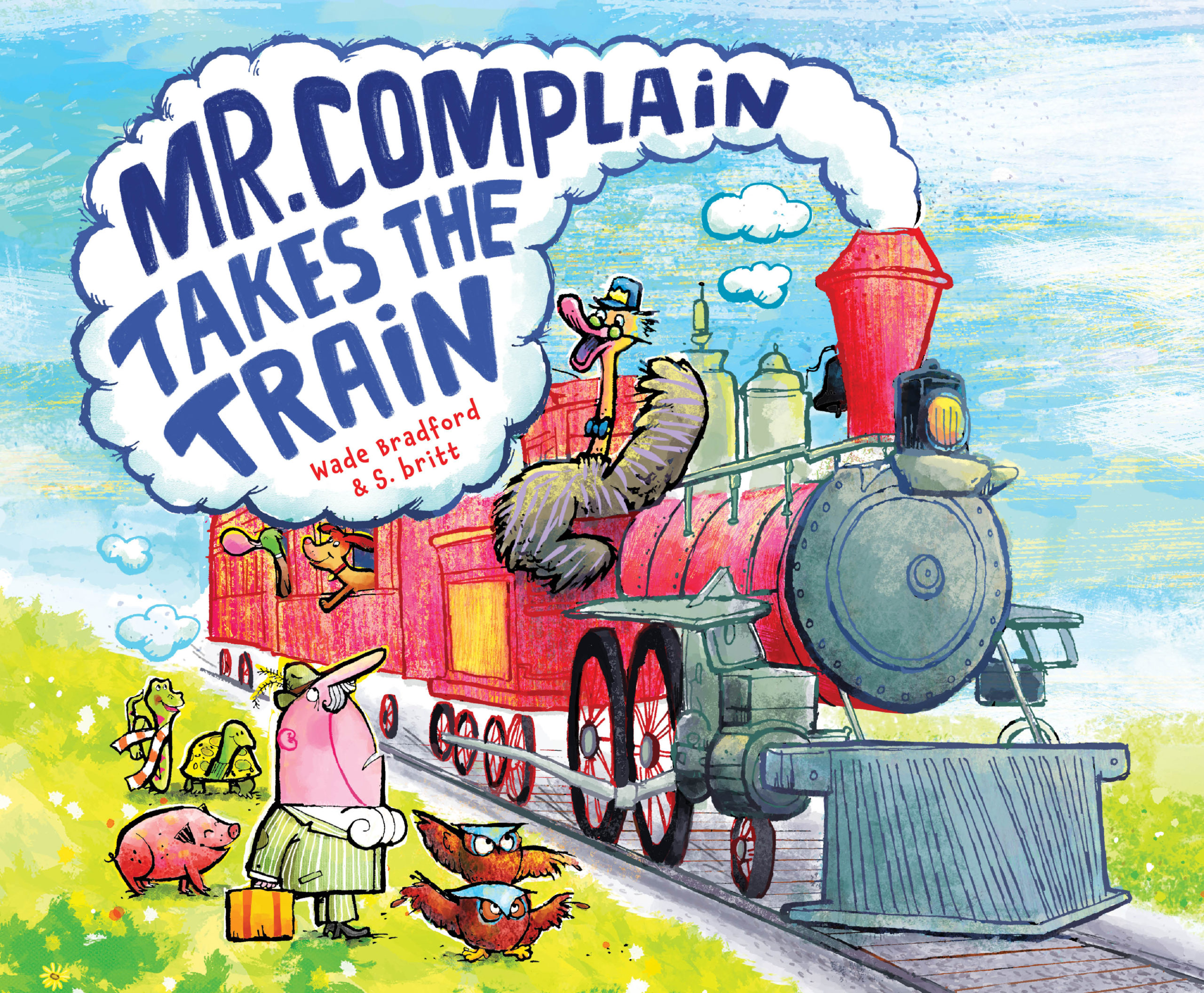 Mr. Complain Takes the Train